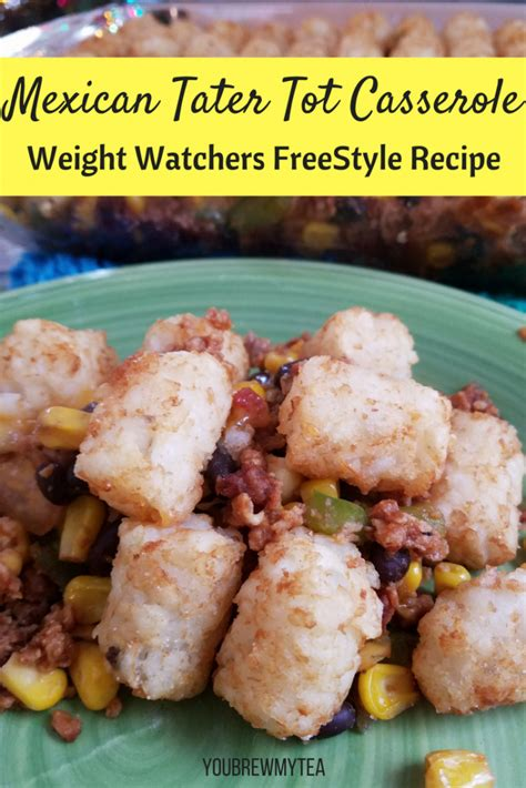 weight watchers freestyle cookbook 2018 healthy and delicious weight watchers freestyle flex recipes for lasting weight loss ww flex plan books mexican tater tot casserole recipe