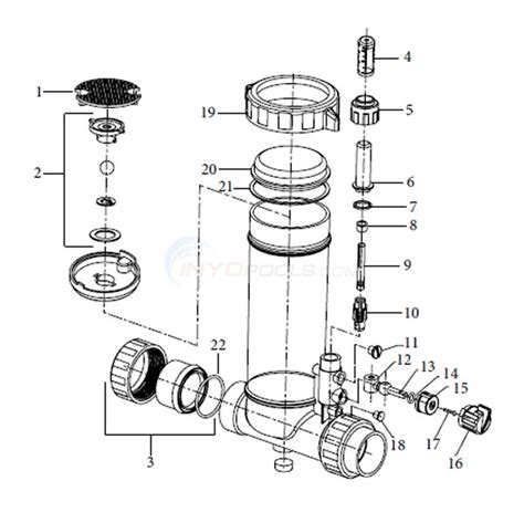 power clean diagram powerclean ultra in line chlorinator parts inyopools
