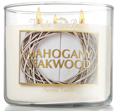 White Barn Candle Mahogany Teakwood Uk by Slakin Co Fall 2012 Candles Musings Of A Muse