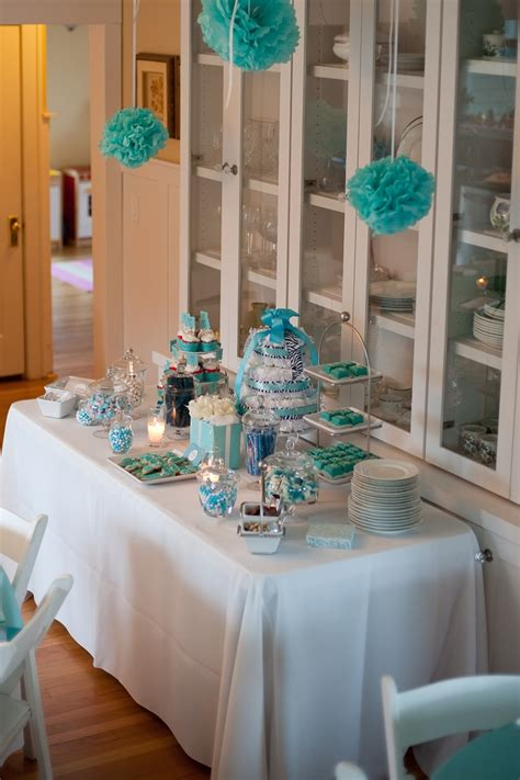 Blue Baby Shower Decorations by 17 Best Images About Blue Baby Shower On