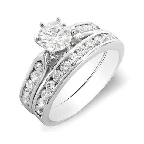 1 carat wedding ring set for in