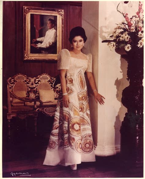 Imelda Marcos To Launch Fashion Line But No Shoes by In Their Inaugural Ternos Who S The Best