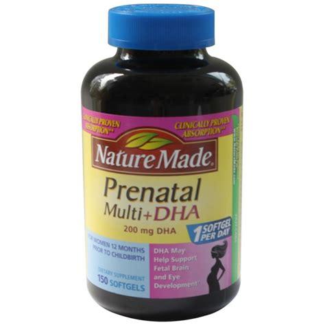 Vitamin Ibu Prenatal Nature Made Multi Dha 150 Softgels prenatal multi dha nature made 150 vi 234 n nang vitamin