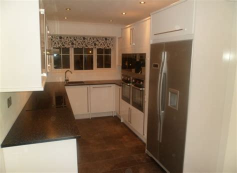 garage conversion into a kitchen started 3rd january 2013 in ashford ashford building services