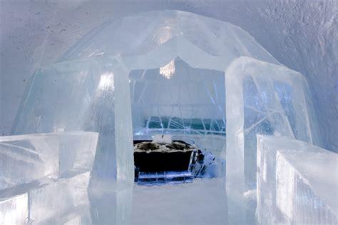 Frozen Bedrooms 21 Swedish Ice Hotel Pictures