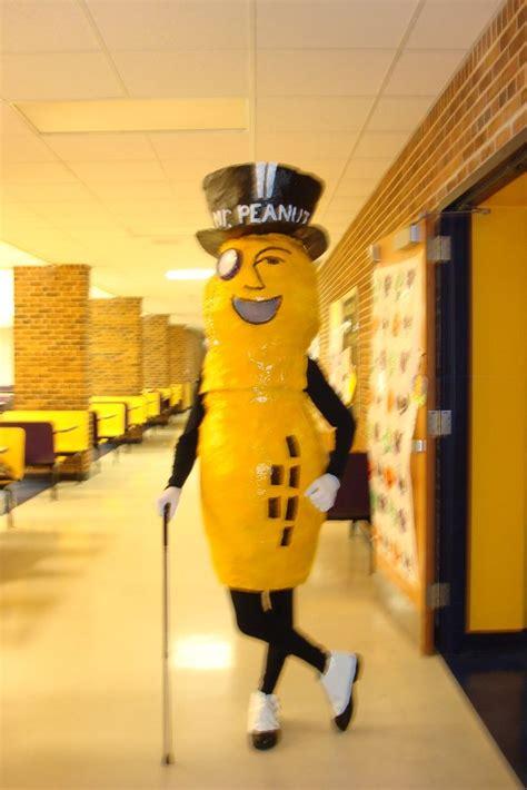 how to make a mr peanut costume