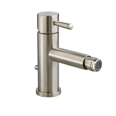 Single Bidet Faucet american standard serin single handle bidet faucet in brushed nickel 2064 011 295 the home depot