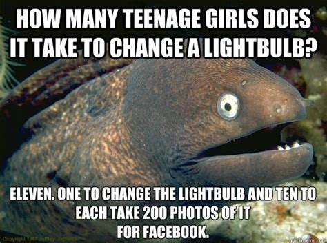 Bad Joke Eel Meme - knee deep in lightbulbs no more clients the paul mort