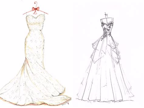 how to make a design how to make a wedding dress everafterguide