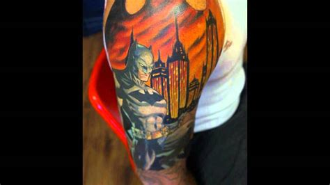 3d tattoo designs youtube 3d batman tattoo www imgkid com the image kid has it