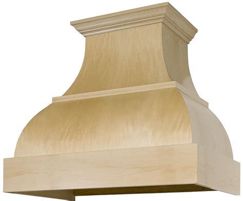 Buy And Build Kitchen Cabinets maple curved style b series standard wood range hood