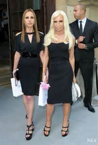 Daniel versace beck 2013 allegra and donatella versace mothers and