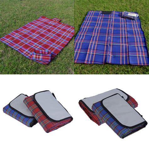 Outdoor Picnic Rug Waterproof 79x59 Outdoor Cing Picnic Moistureproof Mat Blanket Yn Ebay