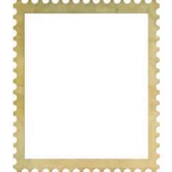 Elements Of Design Home Decorating stamp frame png polyvore