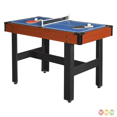 triad 48 in 3 in 1 blue cherry multi game table
