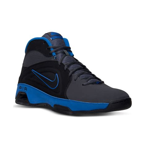 basketball shoes finish line lyst nike mens air visi pro ii basketball shoes from