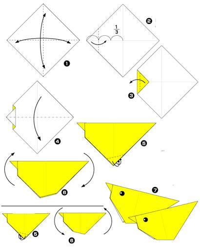 origami fiori semplici per bambini origami dei pulcini di pasqua speciale pasqua 2017