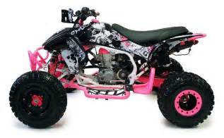 Honda Atv 450r Dfr The Fold Honda Trx 450r Er Atv Graphics Black Pink