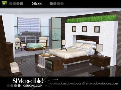 sims 3 bedroom sets simcredible s gloss