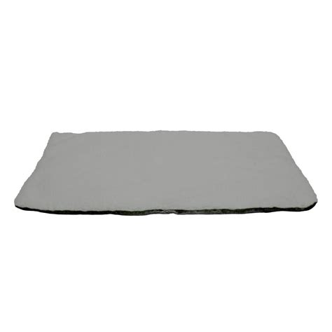 petmaker large gray  warming thermal pet crate pad