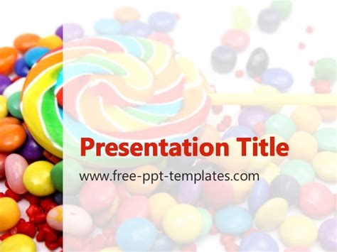 chocolate templates for powerpoint free download lollipop ppt template