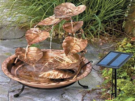 solar powered backyard fountains solar water fountains for landscaping quotes