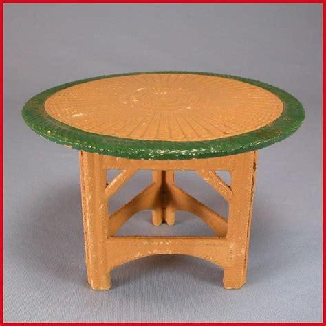 german dollhouse korbi wicker garden furniture  pc set