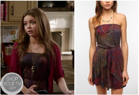 Modern Family Wardrobe by Modern Family Season 4 Episode 18 Hayley S Strapless