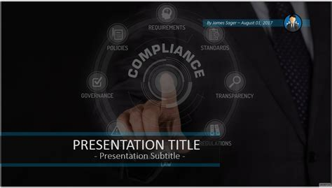 Free Compliance Ppt 63912 Sagefox Powerpoint Templates Compliance Ppt Template