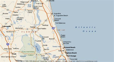 map of palm coast florida map of palm coast