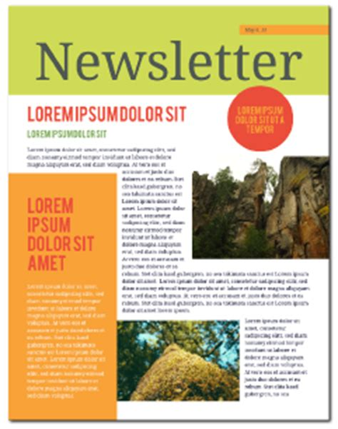 digital newsletter templates free newsletter templates free lucidpress