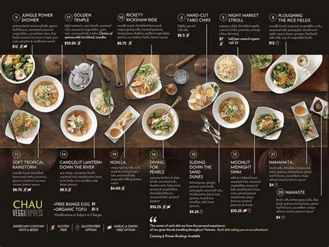 menu design exles restaurants 46 creative restaurant menus designs