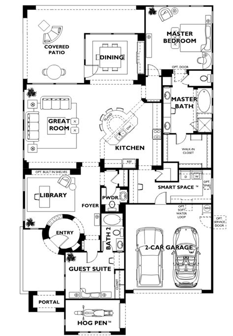 trilogy at vistancia genova model floor plan