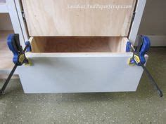 attaching cabinet drawer fronts 4