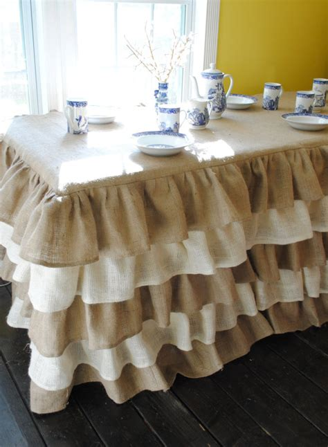 dining room tablecloths 25 inspirational ideas for decorating with burlap