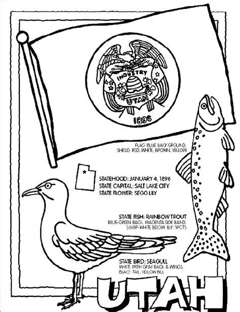crayola coloring pages states crayola website has a coloring page and flashcard for each