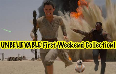 star wars office star wars the force awakens first weekend collection is