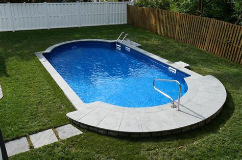 in ground pool ideas how much for semi inground pool and deck joy studio