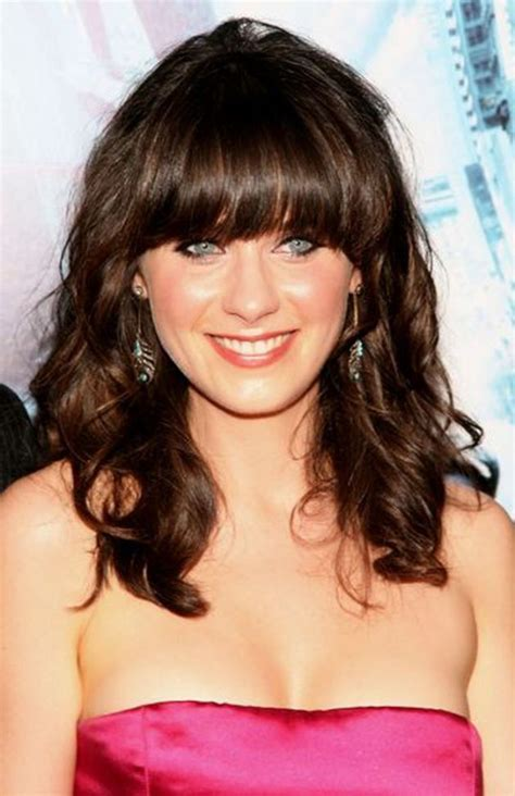 Hairstyles Bangs 40 by Medium Length Hairstyles With Bangs 40 Hairsstyles Co