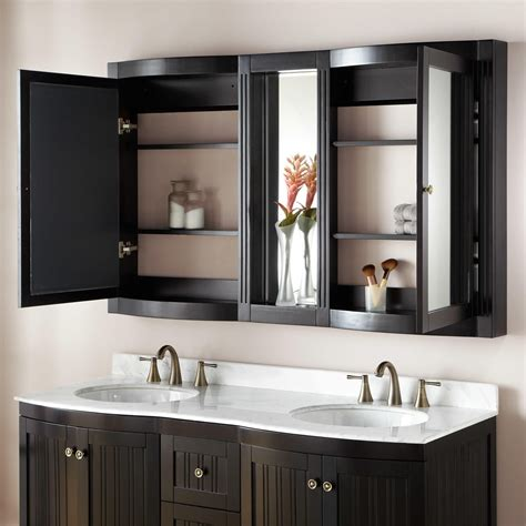 Bathroom Mirror With Cabinet 60 Quot Palmetto Medicine Cabinet Bathroom