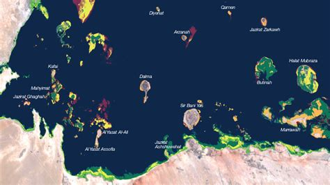 qatar uae map monitoring stations installed in qatar and uae to track