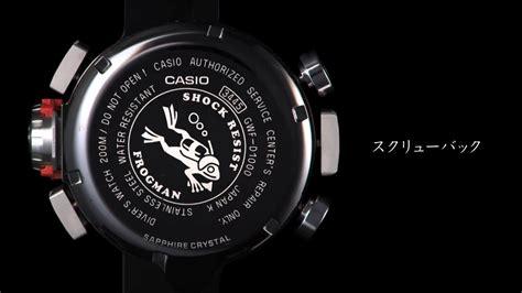 u boat maximum dive depth g shock frogman gwf d1000 with depth gauge and compass g