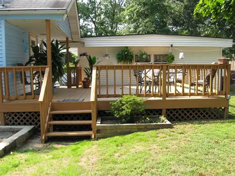 Deck Ideas For Backyard Deck Railing Designs Photo Gallery Of Design Ideas For A And Back Pictures Decks Savwi