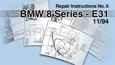 bmw 8 series e31 1992 service repair manual instant download bmw 840 850i e31 workshop and electrical service repair manual cd ebay