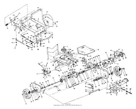 snapper    hp rear engine rider series  parts diagram  rear wheels transmission