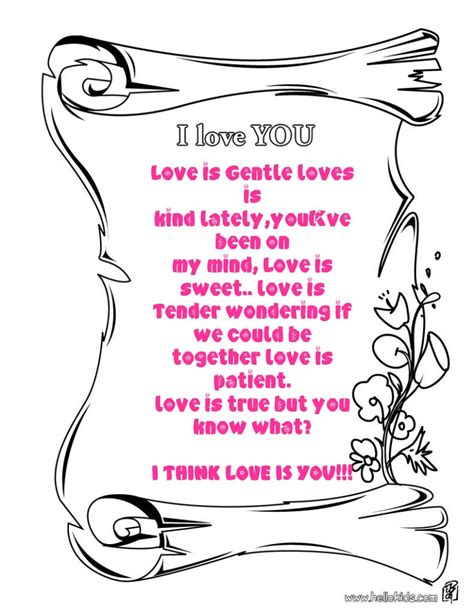 printable coloring pages i love you i love you coloring pictures kids coloring europe