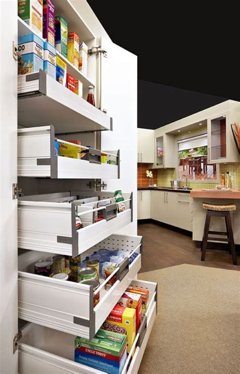 slide out kitchen pantry drawers inspiration the inspired room slide out pantry pantry and shelves on pinterest
