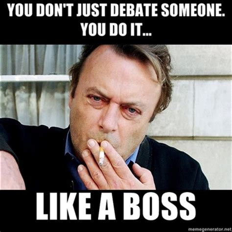 Christopher Meme - why is my ass on fire christopher hitchens meme 1