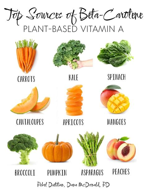 vegetables high in vitamin a 25 best ideas about sources of vitamin a on