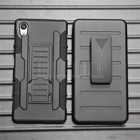Hardcase Cover Z 5 Casing Rugged Armor Sony Xperia Z5 Compact Mini rugged hybrid armor protective cover clip holster for sony xperia z5 ebay
